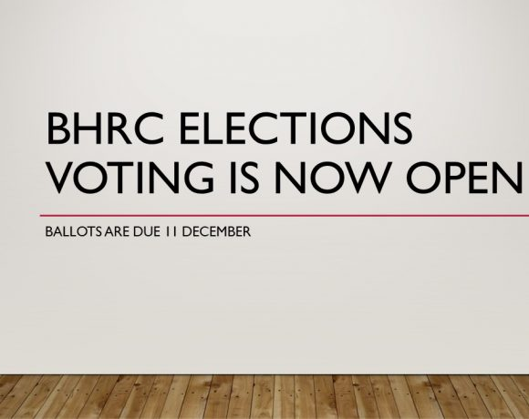 BHRC Elections: Ballots and Statements now available