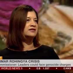 "BHRC co-Vice Chair tells BBC: Rohingya crisis ""bears all the hallmarks of genocide"""
