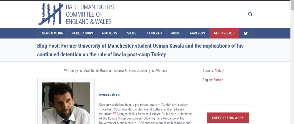 BHRC launches human rights blog with Manchester School of Law