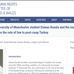BHRC launches human rights blog with Manchester School of Law students on the ongoing crisis in Turkey