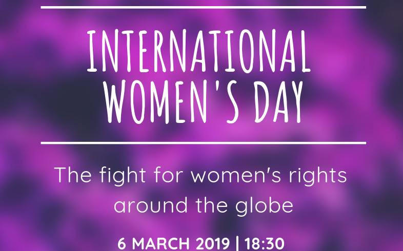 EVENT: International Women's Day: The fight for women's rights around the globe