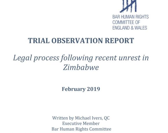 BHRC report raises concern over expedited trials and denial of bail in Zimbabwe