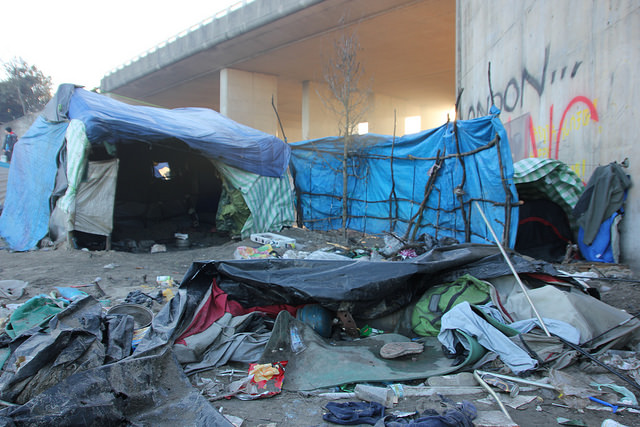 BHRC publishes report on police violence and access to justice in Calais migrant camps