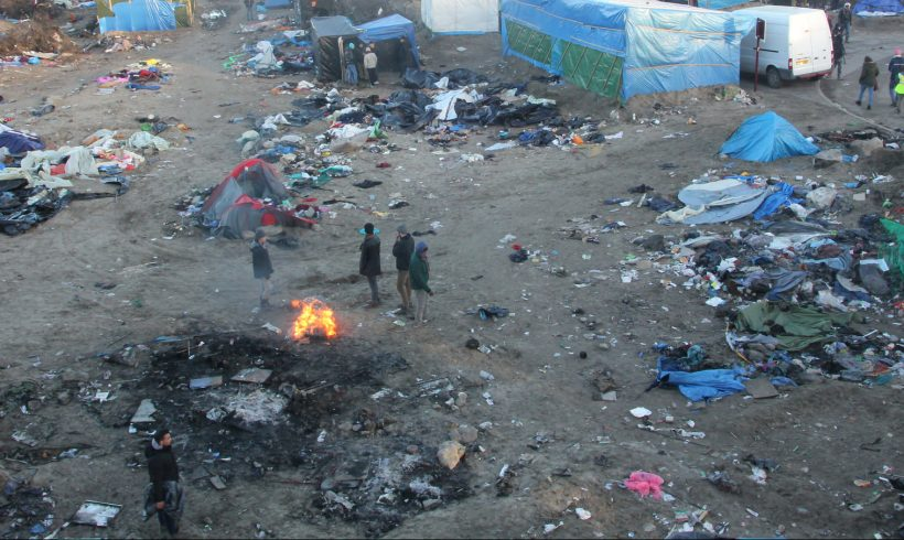 BHRC witnesses child rights abuses during demolition of Calais refugee camps