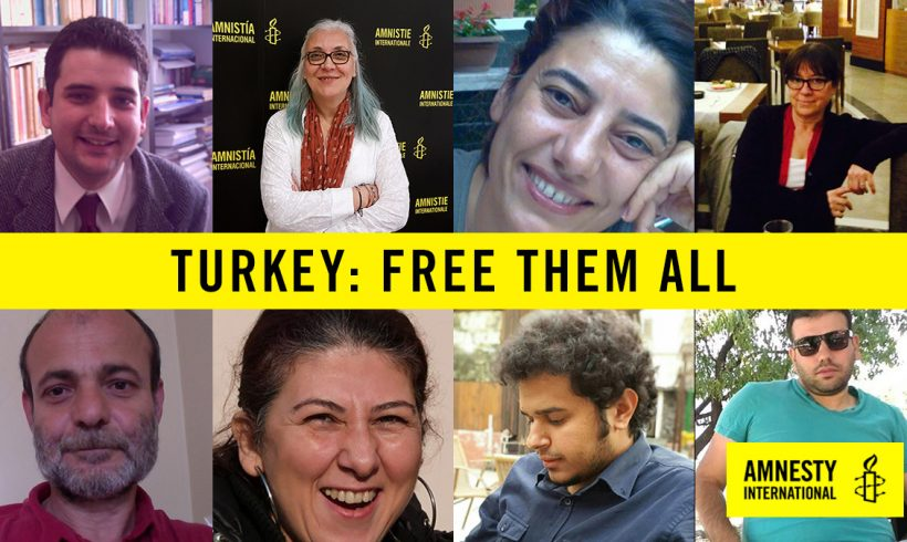 BHRC calls for the release of Amnesty Turkey director and the Istanbul 10.