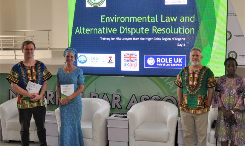 BHRC conducts training for Nigerian lawyers on Environmental Rights and Alternative Dispute Resolution